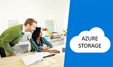 Azure Storage course image