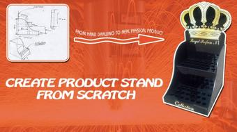 How to create Product stand from scratch course image