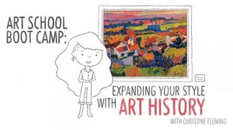 Art School Boot Camp: Expanding Your Style with Art History course image