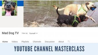 The YouTube channel masterclass - understand YouTube and start your own channel course image