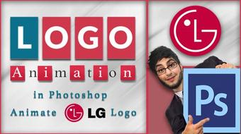 Logo Animation in Photoshop Series : Animate the LG Logo course image