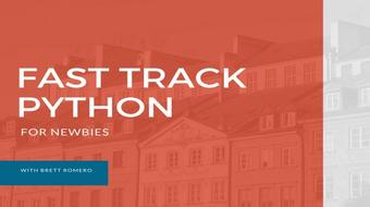 Fast Track Python for Newbies course image