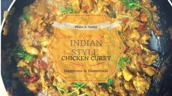 Spicy Indian Style Chicken Curry - Make Something New Today course image