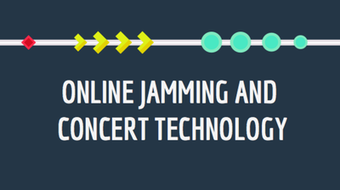 Online Jamming and Concert Technology course image