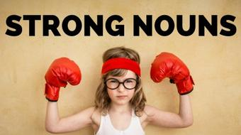 Create Pictures in Your Writing with Strong Nouns course image