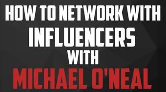 Interview Series: How To Get Noticed By Your Favorite Entrepreneur with Michael O'Neal course image