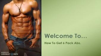 How To Get Six-Pack Abs course image