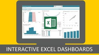 Excel with Interactive Excel Dashboards course image