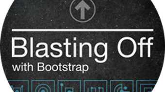 Blasting Off with Bootstrap course image