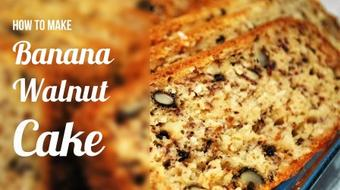 How To Make Delicious Banana Walnut Cake course image