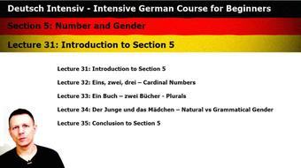 Intensive German: Part 5 - Number and Gender course image