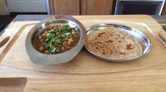 Making Chana Masala and Paratha. course image