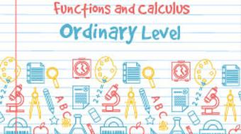 Strand 5 Ordinary Level Functions and Calculus course image