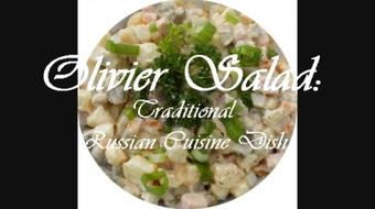 Olivier Salad: Traditional Russian Cuisine Dish course image