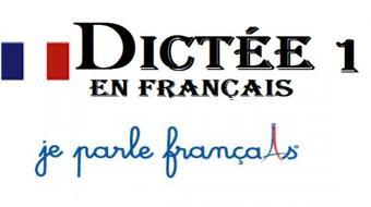 Dictées en français facile course image