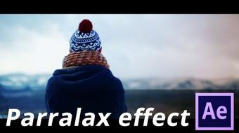 Create a Parralax Effect on a Photograph in Adobe After Effects course image