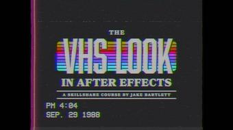 The VHS Look in After Effects course image