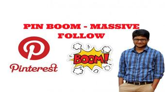 PART - 01 PIN BOOM - HOW TO GET MASSIVE FOLLOWERS & TRAFFIC FROM PINTEREST ? course image