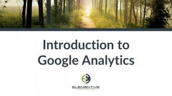 Introduction to Google Analytics course image