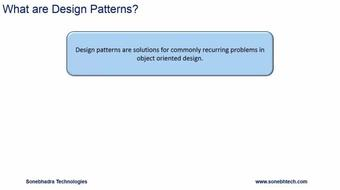 Design Patterns Through Python course image