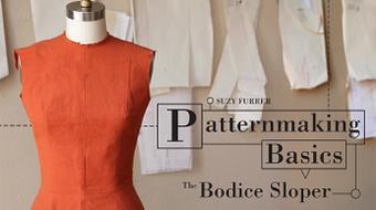 Patternmaking Basics: The Bodice Sloper course image