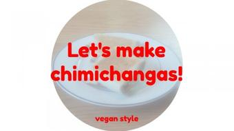 Let's make chimichangas - vegan style course image