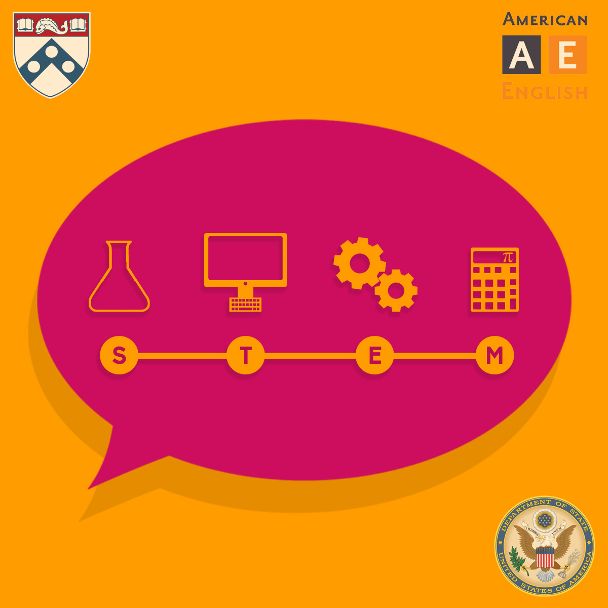 English for Science, Technology, Engineering, and Mathematics course image