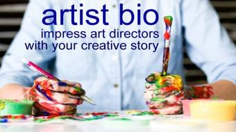 How to write an Artist Bio that will Impress Art Directors + Gallery Curators. Your Creative Story course image