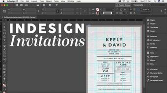 InDesign: Creating Invitations course image