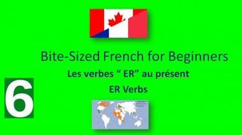 Bite-Sized French for Beginners: ER Verbs course image