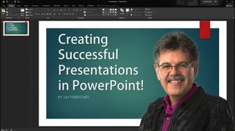 Creating Successful Presentations with Powerpoint (and avoid the biggest mistakes!) course image