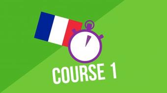 3 Minute French - Course 1 course image