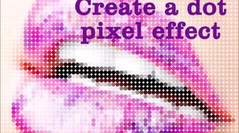 Create a Dot Pixel effect in Photoshop course image