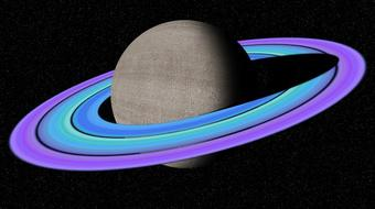 Photoshop: Make Saturn with Custom Rings in Deep Space course image