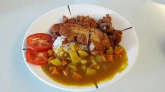 Cutlet Chicken Chop Curry Rice course image