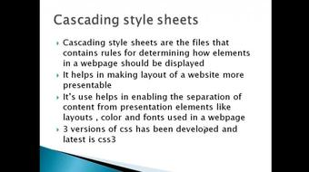 CSS For Beginners course image