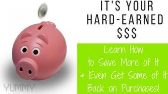 Saving Money AND Earning Money Back on Purchases Isn't Just for Black Friday & Cyber Monday course image