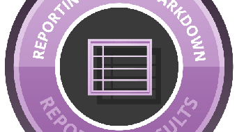 Reporting with R Markdown course image