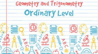 Strand 2 Ordinary Level Geometry and Trigonometry course image