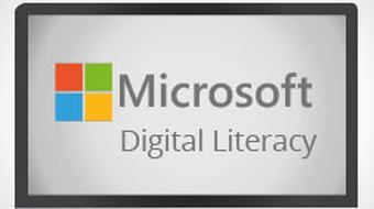 Microsoft Digital Literacy - Digital Lifestyles course image