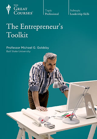 The Entrepreneur's Toolkit - CD, digital audio course course image