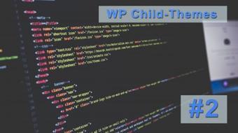 WordPress Development: How to create a child-theme #2 course image