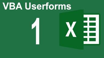 Mastering Excel VBA Userforms Part 1 (Mastering Userform Environment) course image