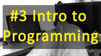 #3 Intro to Programming - Chapter Three course image