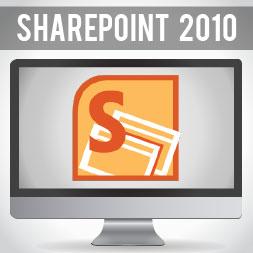 Microsoft SharePoint 2010 course image