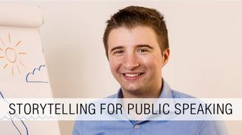 Storytelling for Public Speaking: Inspire, Engage and Persuade with Powerful Storytelling course image