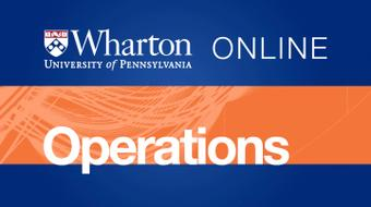 Introduction to Operations Management course image