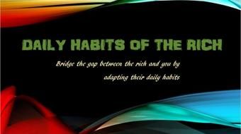 8 daily habits of the rich and successful course image