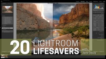 20 Lightroom Lifesavers course image