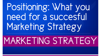 Positioning: What you need for a successful Marketing Strategy course image